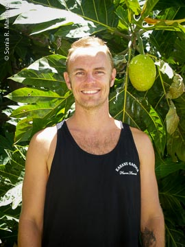 Ian Cole of the Breadfruit Institute.
